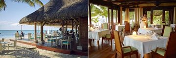 LUX Le Morne, The Beach and East Restaurants