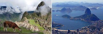 Machu Picchu Alpacas, Peru & Rio de Janeiro, Brazil