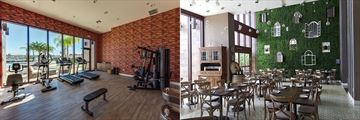 Magic Village Resort, Fitness Room and Villaggio Restaurant