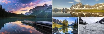 Maligne Lake, Jasper & Columbia Icefield