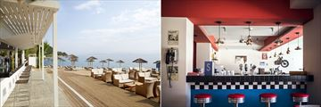 Dolphin Bar and Splash Bar at MarBella Corfu