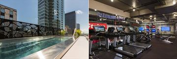 Marriott Renaissance Montreal Downtown, Rooftop Terrace Pool and Fitness Centre