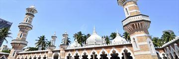 Masjid Jamek in Kuala Lumpur
