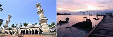 Nasjid Jamek, Kuala Lumpur & Sunrise in Pangkor