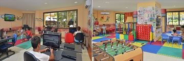 Games Room and Mini Club at Melia Varadero