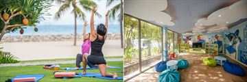 Yoga classes and kid's club at Mia Resort, Nha Trang