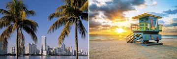Miami Skyline & Beachscapes, Florida