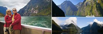 Milford Sound Cruise & Fiordland National Park