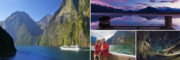 Milford Sound, Lake Wakatipu & Glow Worm Caves