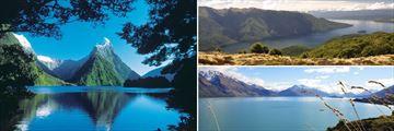 Milford Sound, Te Anau & Lake Wakatipu