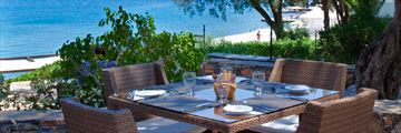 Terpsis Restaurant at Minos Beach Art Hotel