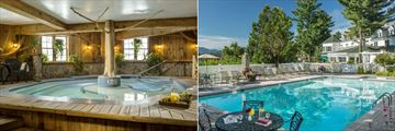 Mirror Lake Inn Resort and Spa, Jacuzzi and Outdoor Pool