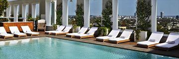 Pool at Mondrian