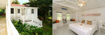 Montpelier Plantation Resort, Nevis, The Little House Exterior and Bedroom