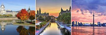 Montreal, Ottawa & Toronto