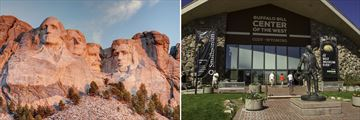 Mount Rushmore & Buffalo Bill Centre, Cody