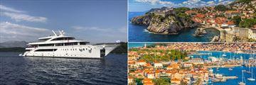 MS Ambassador Dubrovnik and Trogir