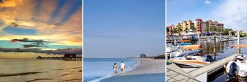 Pier, Beach & Bay in Naples, Florida