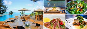 Dining at Nautilus Resort Rarotonga