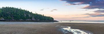 New River Beach in New Brunswick