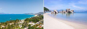 Nha Trang beach scenery