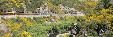 Railway journeys through Taieri Gorge