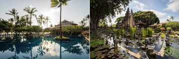 Pool and Gardens at Nusa Dua Beach Hotel