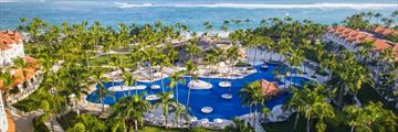 Occidental Caribe, Resort Pool and Sea View