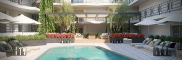 Oceana Santa Monica, Hotel Exterior and Pool