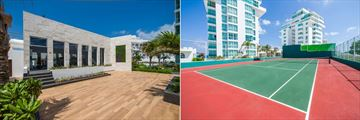 Oleo Cancun Playa Boutique Resort, Fitness Centre and Tennis Court