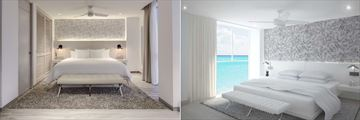 Oleo Cancun Playa Boutique Resort, Standard King Room and Standard King 180 Degree View Room