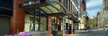 Omni Chicago Hotel Exterior