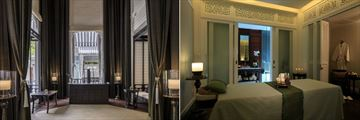 137 Pillars House, Nitra Spa & Wellness Reception and Massage Room