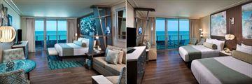 Opal Sands Resort, Premium King Gulf Front Room and Premium Two Queen Gulf Front Room