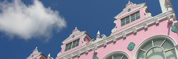 Oranjestad architecture in Aruba