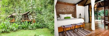 The Garden Suite at Pacuare Lodge