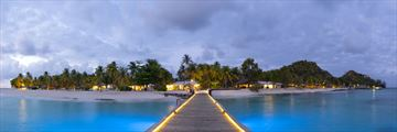 Palm Island Resort & Spa, Island and Jetty at Twilight