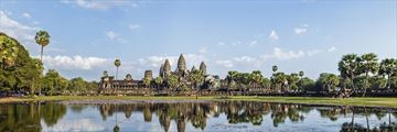 Panoramic view of Angkor Wat, Cambodia