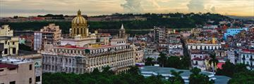 A panoramic view of Havana