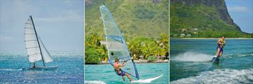 Paradis Beachcomber Golf Resort & Spa, Sailing, Windsurfing and Water Skiing