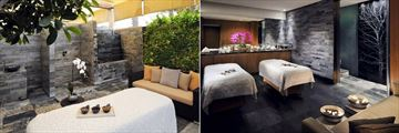 Park Hyatt Abu Dhabi Hotel & Villas, Spa Treatment Room & Terrace and Spa Couples Treatment Room