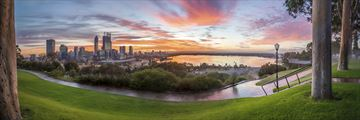 Sunrise in Perth