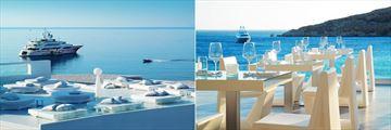 Sky Lounge and VIP Restaurant at Petasos Beach Resort