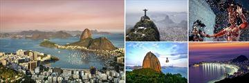 The sights of Rio de Janeiro