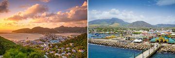 Philipsburg, St Maarten & Bassetrre, St Kitts