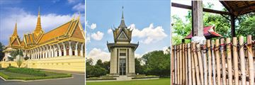 Phnom Penh Royal Palace & Killing Fields Memorial
