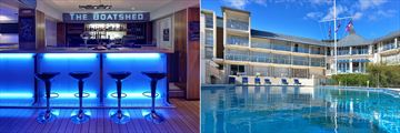 Picton Yacht Club Hotel, The Boatshed Bar and Hotel Pool
