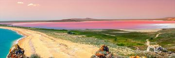 Pink Lake sunset, Hutt Lagoon