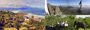 Plattenburg Bay, Table Mountain cable car & South African safari