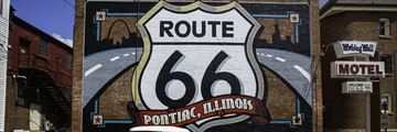 Pontiac, a stop along the Route 66, Illinois